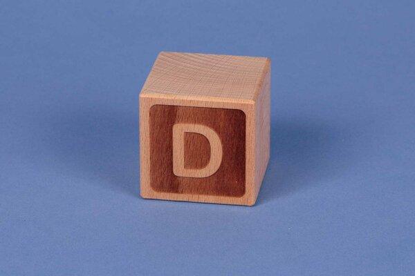 Cubes en lettres D négatif