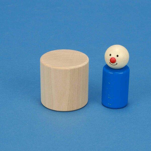 cylindres en hêtre Ø 5 x 5 cm