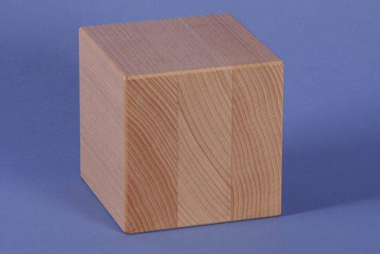 cubes en bois 9 cm