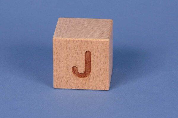 Cubes en lettres J positive