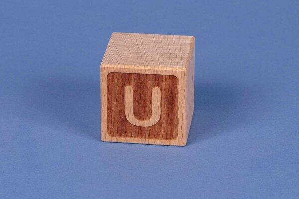 Cubes en lettres U négatif