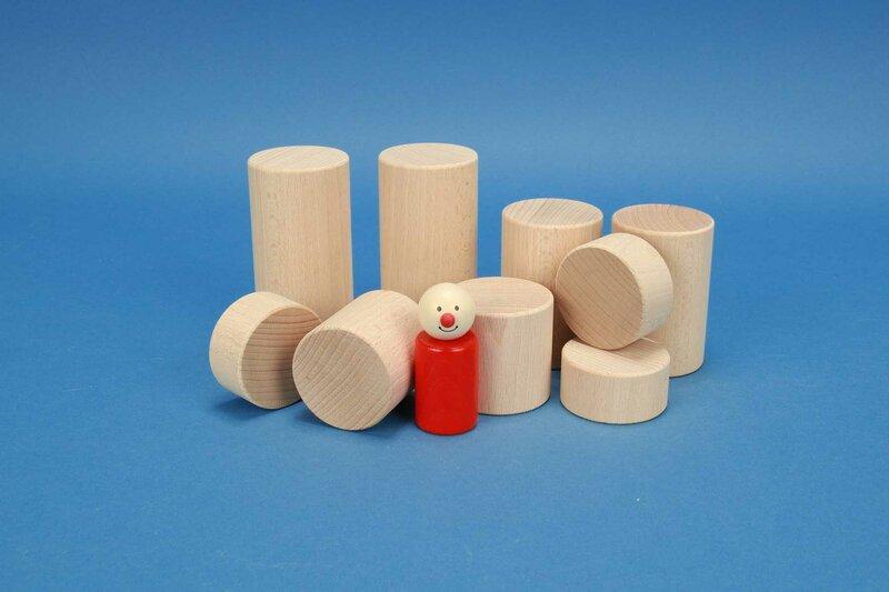 cylindre en hêtre Ø 5 cm