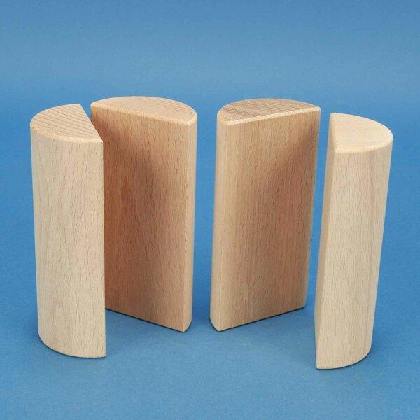 colonnes demi Ø 6 x 12 cm