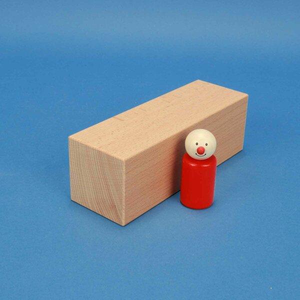 cubes en bois grands 18 x 6 x 6 cm