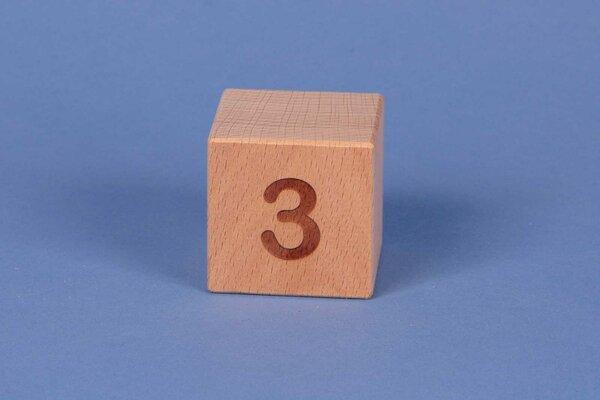 Cubes en lettres 3 positive
