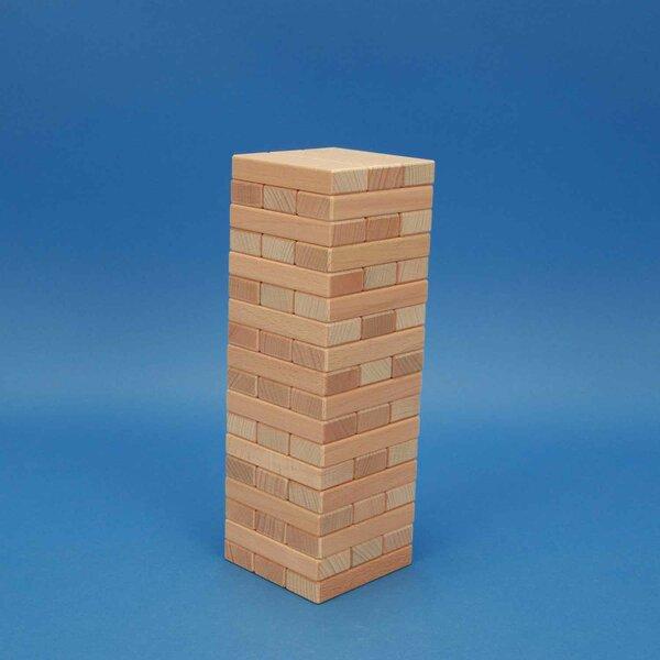 Tour d'équilibre en bois