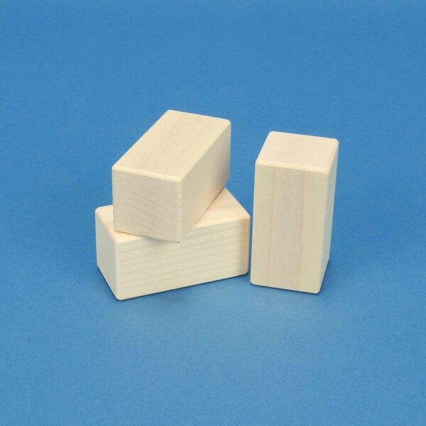 cubes en érable 6 x 3 x 3 cm