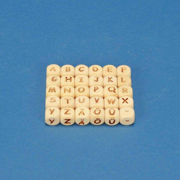 cubes de lettres