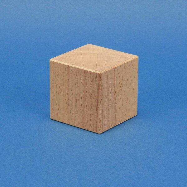 cubes en bois hetre 4cm