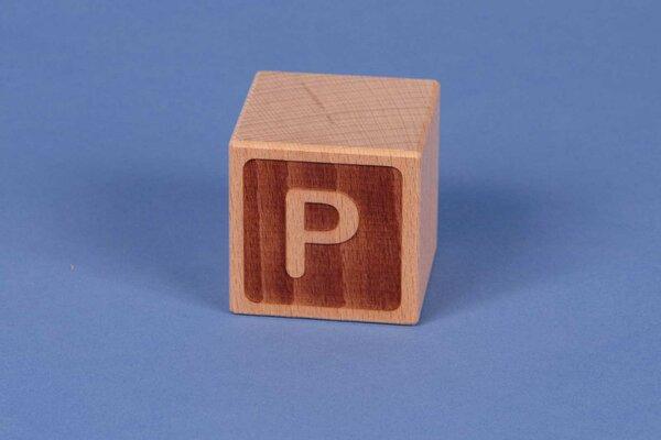 Cubes en lettres P négatif