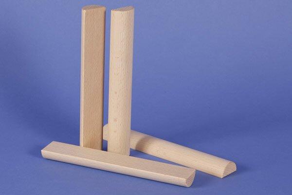 colonnes demi Ø 3 x 18 cm