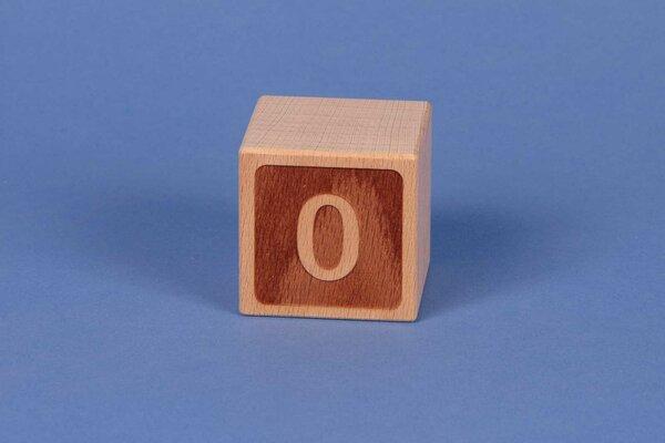 Cubes en lettres 0 négatif