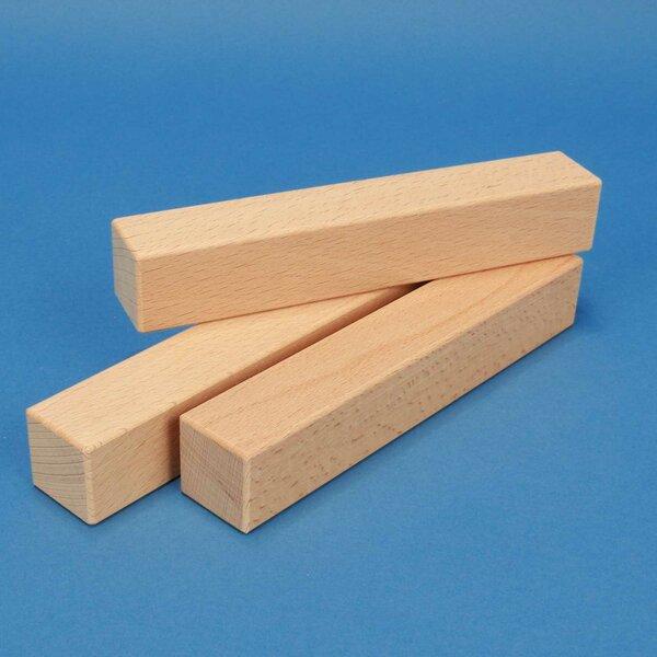 blocs de construction en bois 18 x 3 x 3 cm