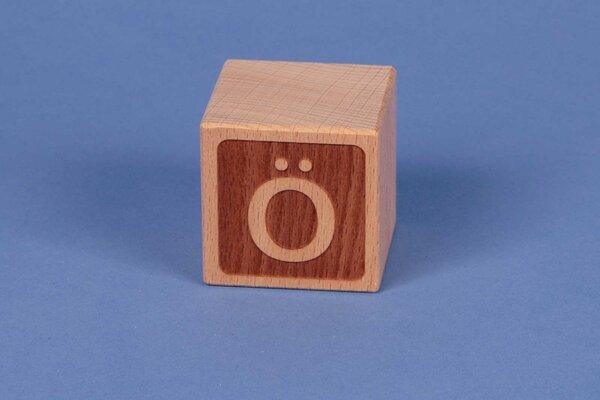 Cubes en lettres Ö négatif