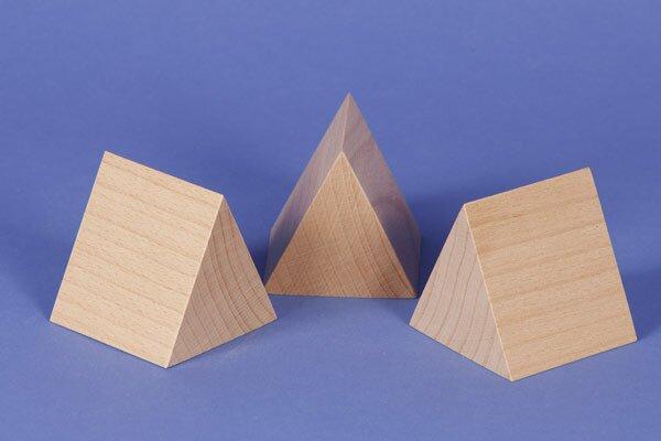 colonnes triangulaires 6 x 6 x 6 cm equilatéral