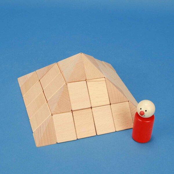 Ensemble de pyramide petit carrée 9 cm