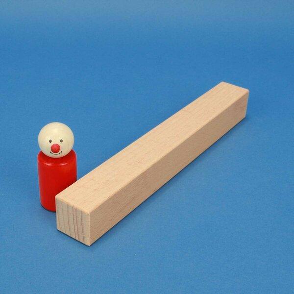 cubes en bois carrés 24 x 3 x 3 cm