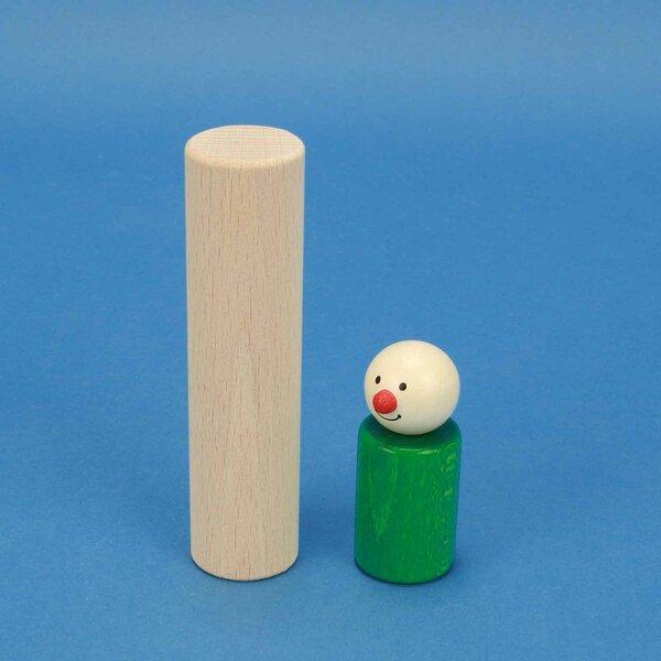 blocs de construction en bois ronds Ø 3 x 12 cm