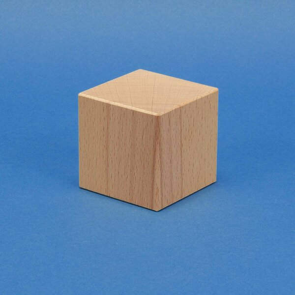 cubes de construction en bois grands 6 cm