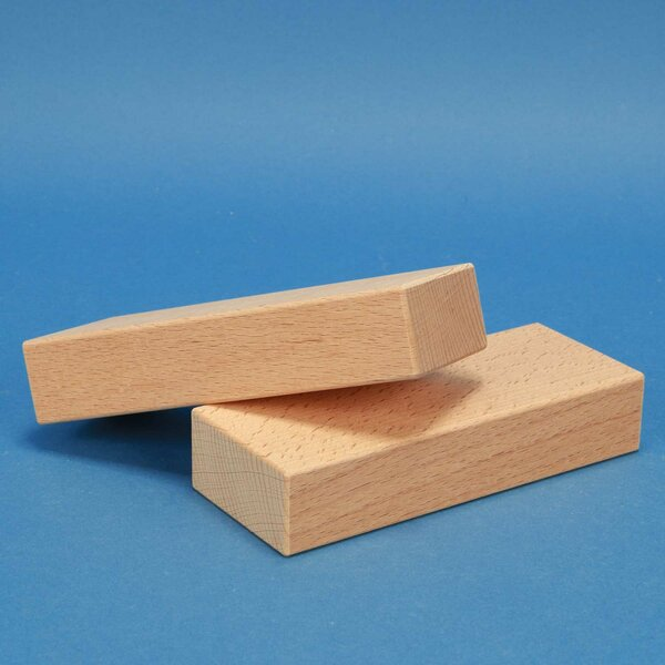 blocs de construction en bois 15 x 6 x 3 cm