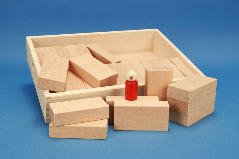 Fröbel cubes en bois