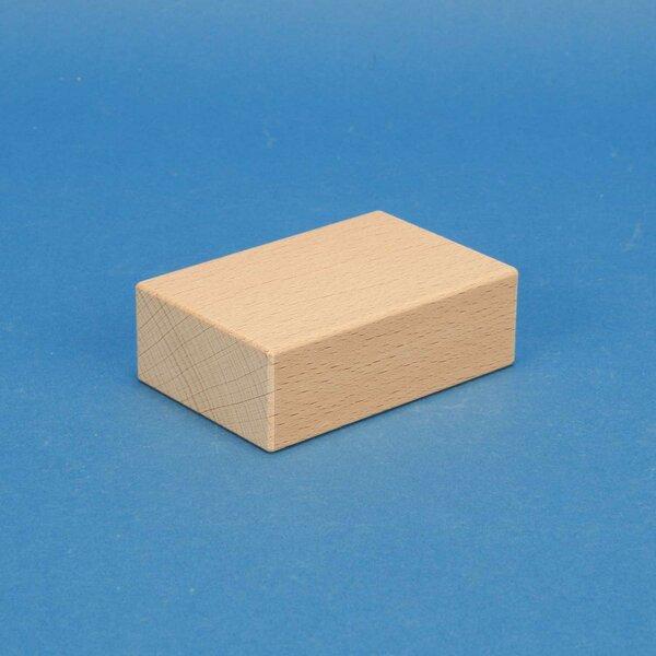 cubes en bois 9 x 6 x 3 cm