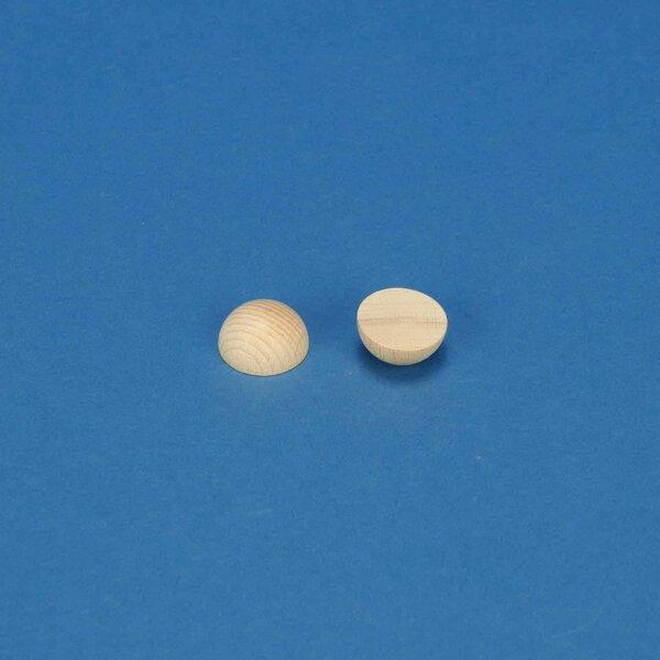 Demi Sphères en bois en hetre Ø15 mm