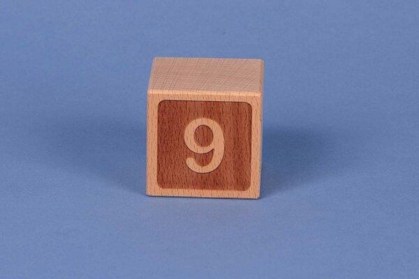 Cubes en lettres 9 négatif