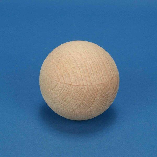 Sphères en bois en hetre Ø 4 inches