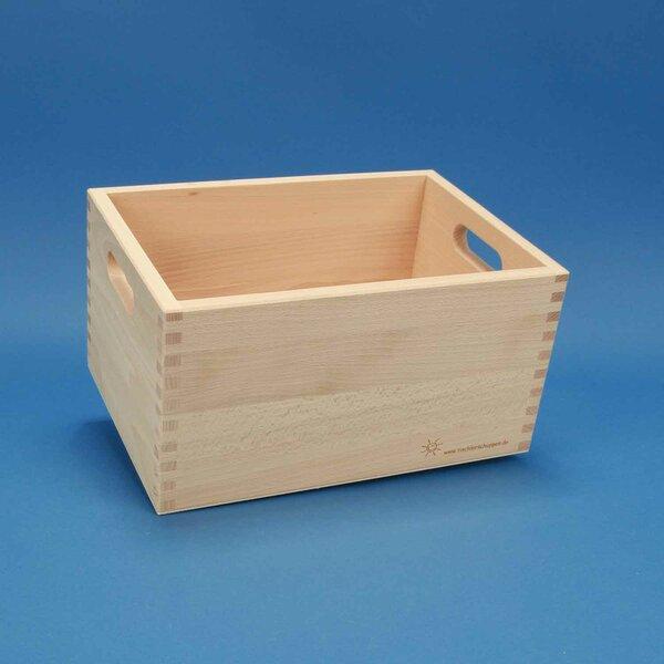 Caisse de rangement petite sans des blocs en bois