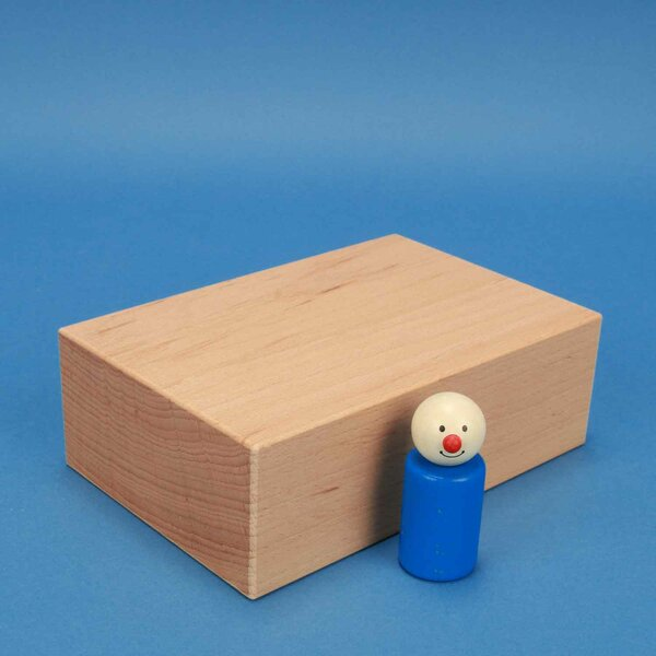cubes de construction en bois grands 18 x 12 x 6 cm
