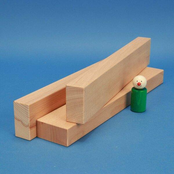 cubes en bois 36 x 6 x 3 cm