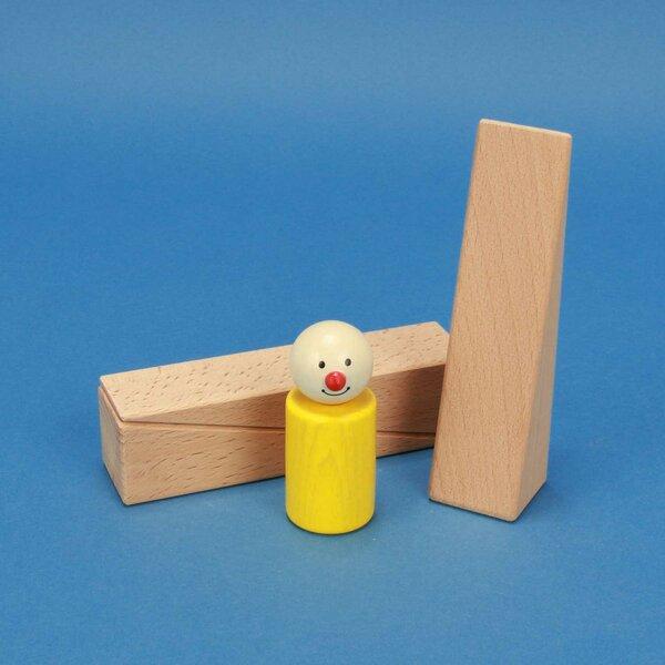 cubes en bois triangles 12 x 3 x 3 cm