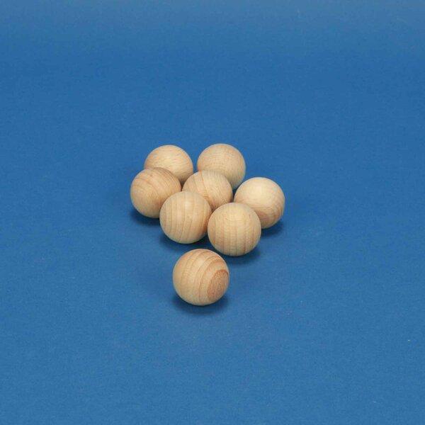Boules en bois Ø 25 mm
