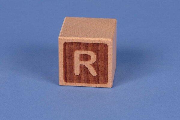 Cubes en lettres R négatif