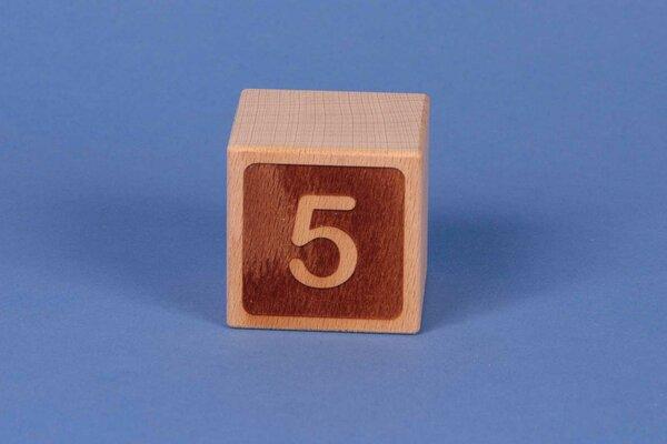 Cubes en lettres 5 négatif