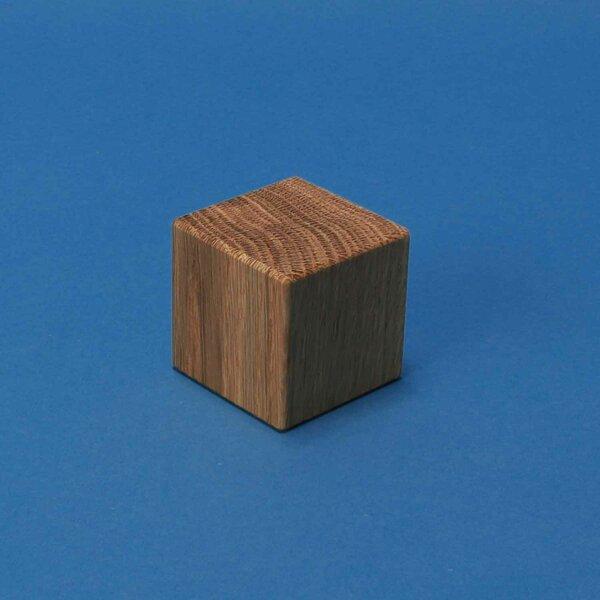 cubes en bois noyer 4,5 cm
