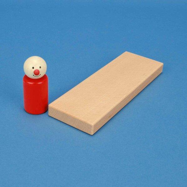 blocs de construction en bois 18 x 6 x 1,5 cm