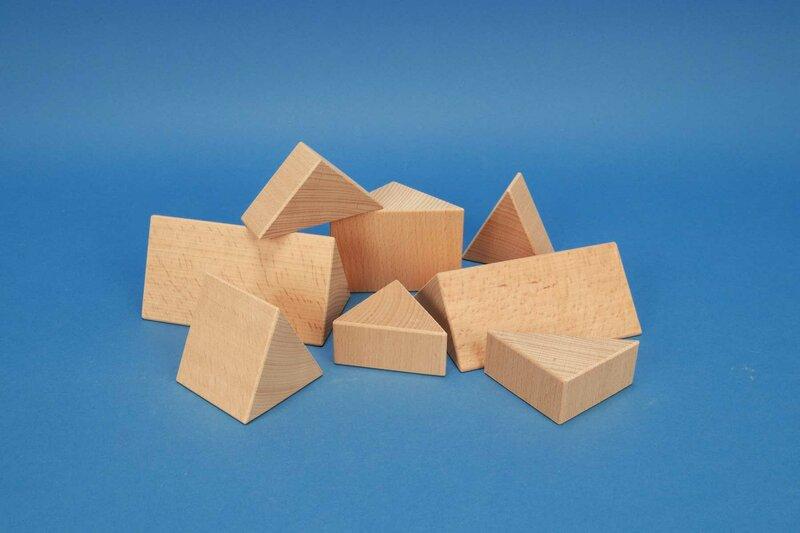 colonnes triangulaires 6 cm
