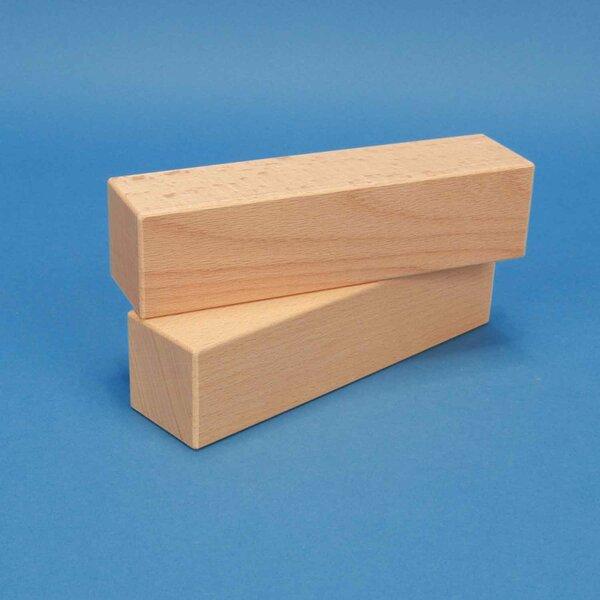 blocs de construction en bois 18 x 4,5 x 4,5 cm
