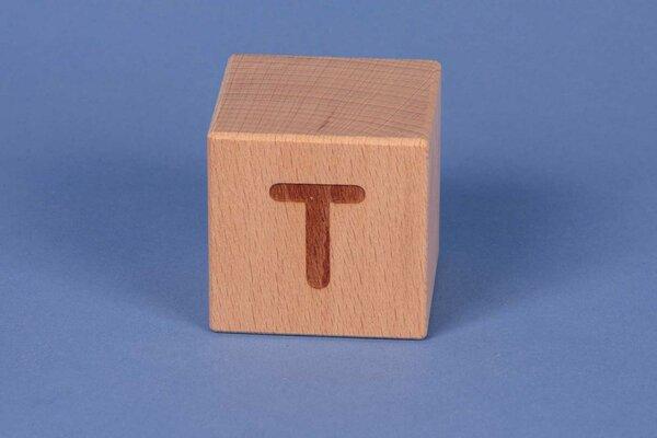 Cubes en lettres T positive