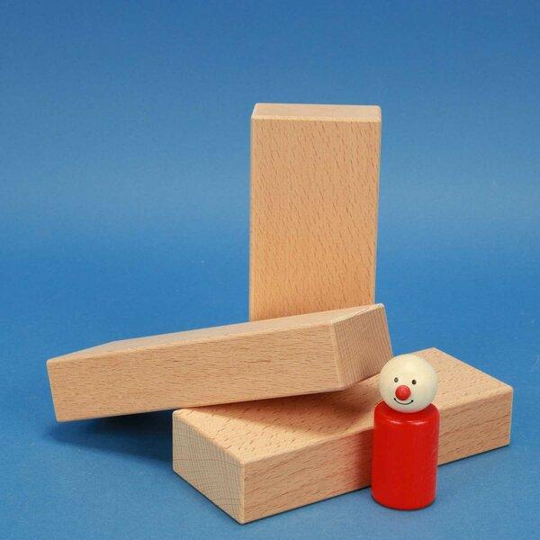 fröbel blocs de construction en bois 15 x 6 x 3 cm