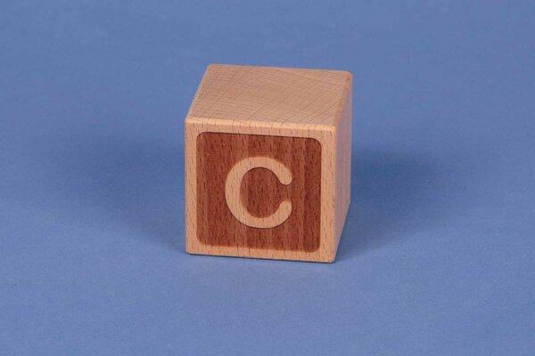 Cubes en lettres C négatif