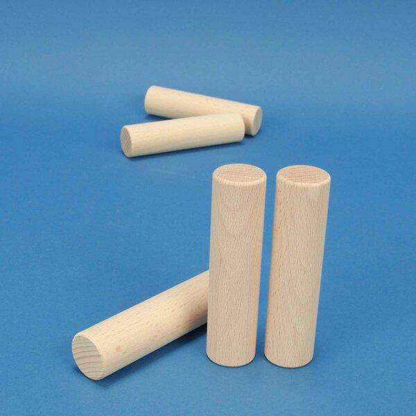 cylindres en hêtre Ø 2,5 x 10 cm