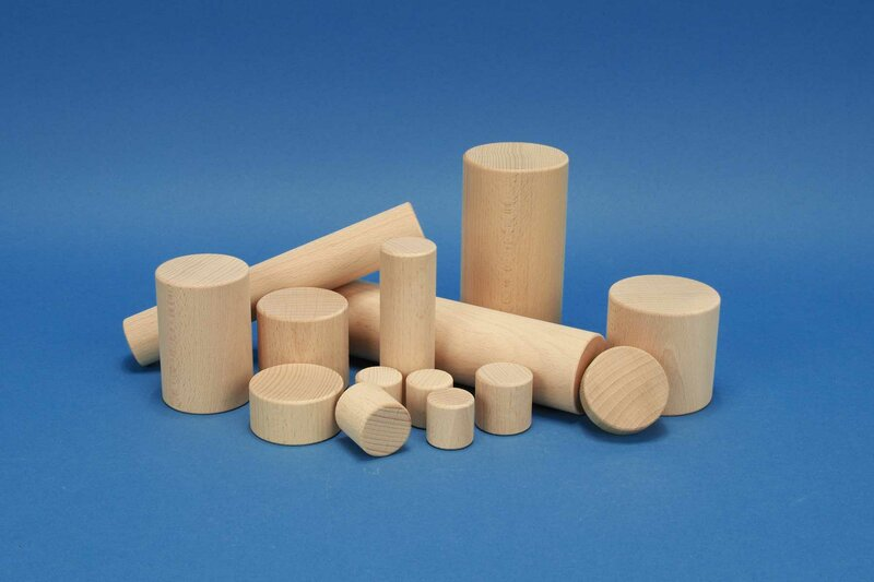 Cylindre en bois