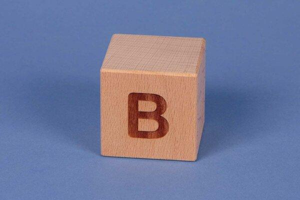 Cubes en lettres B positive