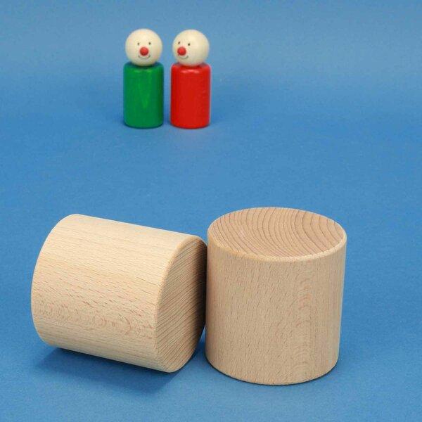 cylindre en hêtre Ø 6 x 6 cm