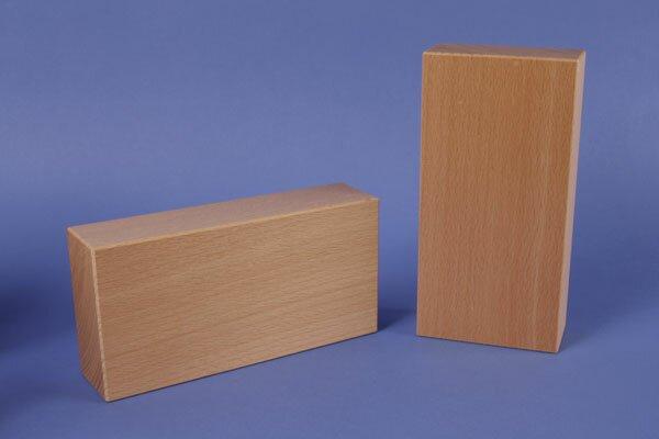 cubes de construction en bois grands 36 x 12 x 6 cm