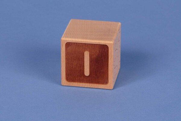 Cubes en lettres I négatif