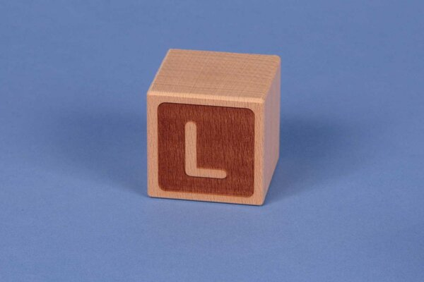 Cubes en lettres L négatif